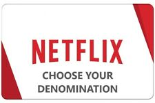 Netflix Gift Card | $25 to $100 | Fast Delivery