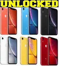 Apple iPhone XR 64GB │ 128GB │ 256GB (UNLOCKED) Verizon Black│Red│White *OTHER*