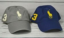 NWT POLO RALPH LAUREN CLASSIC BASEBALL CAP HAT ONE SIZE 2 COLORS