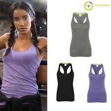 Tombo Women Adults Racerback Workout Training Tank Top (TL506)-Sleeveless Top