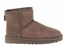 Ankle boot UGG AUSTRALIA 6222 C in chocolate suede leather - Women's Shoes