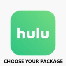 Hulu   Choose Your Package   Fast Delivery