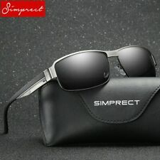 Square Polarized Sunglasses High Quality Sport, Driving Mirror Vintage Glasses
