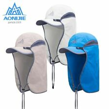 4183a3a1 Fishing Sun Visor Cap Hat UPF50 Sun Protection w/ Removable Ear Neck Flap  Cover