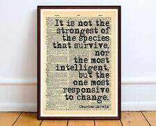 charles bukowsk quote wall art print gift poster home literary gift