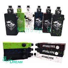 Tugboat Tuglyfe Zombie Splatter Dual 18650 Mod Box W/Matching RDA full Kit & Bag