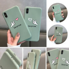 TPU Phone Case Cute Pattern Phone Case Cover for iPhone X XS XR XSMAX 8Plus