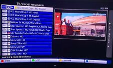 IPTV SUBSCRIPTION BEST HD 4K CHANNELS PAKISTAN INDIAN USA CRICKET WORLD CUP LOT
