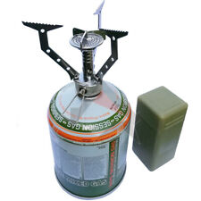 WEB-TEX WARRIOR COMPACT STOVE Camping Fishing Hiking 420g GAS CANISTER - OPTIONS