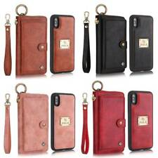 For Iphone 7/8/X/XR/XSMAX Phone Case Cover Card Wallet Flip Leather Stand