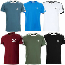 Mens Adidas Originals Trefoil T-Shirt California Retro Crew Neck Tee Top BNWT