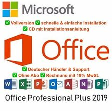Microsoft Office 2019 Professional Plus - Vollversion - DVD/USB - Best Seller