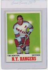 1970 Topps Hockey Eddie Shack Tim Horton George Armstrong Pete Mahovlich choice