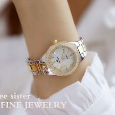 Ladies Wrist Watches Dress Gold Watch Women Crystal Diamond Watches