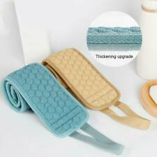 Double Sided Back Strap Long Scrubber Bath Shower Spa Body Exfoliating Spo Fast