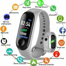 Smart Sport Bracelet Watch Wristband Blood Pressure Heart Rate Monitor Pedometer