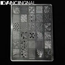 DIY Nail Art Stamping Stamper Kit With Image Plate & Scraper Manicure Tool