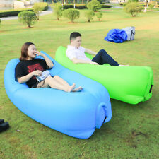 Inflatable Lounger Air Chair Sofa Bed Lazy Bag Bean Outdoor Sleeping Lazy Couch