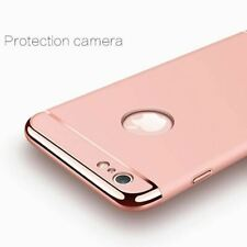 Hard Case for iPhone 7 6 6s 5 5s SE X Back Cover Xs Max XR Luxury Gold