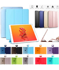 Ultra thin magnetic leather 2 piece smart case cover stand Apple iPad 5 Air