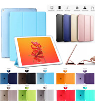 """Ultra thin magnetic leather 2 piece smart case cover stand Apple iPad 9.7"""" 2018"""