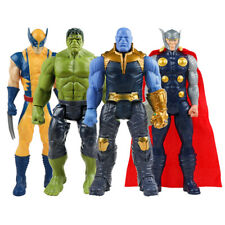 30cm Marvel Avengers Endgame Thanos Spiderman Hulk Iron Man Captain America Thor
