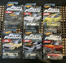 2019 Hot Wheels Fast and Furious Set of all 6  or Select Your Cars Individually