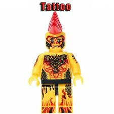 TATTOO MINIFIGURES AVENGERS SUPER HEROES MARVEL DC COMICS CUSTOM TOYS FOR KIDS