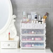 Makeup Organizer Box Plastic Cosmetic Drawer Container Storage Jewelry Case