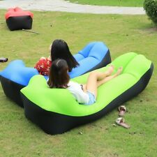 Trend Air Sofa Bed Outdoor Sleeping Bag Inflatable Lazy Bag Beach Sofa Laybags