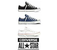 Converse Unisex Mens Womens All Star Low Tops Chuck Taylor Trainers Shoes