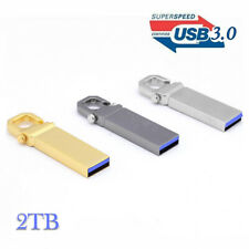 USB 3.0 2TB Flash Drives Memory Metal Flash Drives Pen Drive U Disk