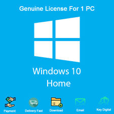 Windows 10 Home 32/64 Bit Product Key with Download Links Genuine