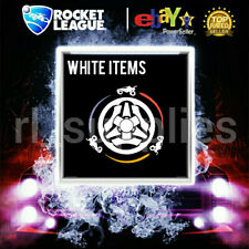 Painted Titanium White Items (cars, wheels, decals) for Rocket League Xbox One
