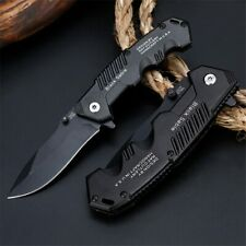Tactical Survival Folding Blade Knife Pocket Camping Hunting Outdoor Knives ZKO8