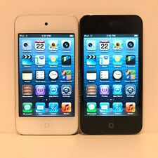 Apple iPod Touch 4th Generation, 8GB, 16GB, 32GB - Black or White - Good