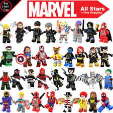 Super Heroes MiniFigures 150+ Marvel Compatible X-Men Justice League Harley Quin