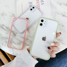 Transparent Hard Back Bumper Case Cover For iPhone 11 Pro Max Xs X XR 7 8 Plus