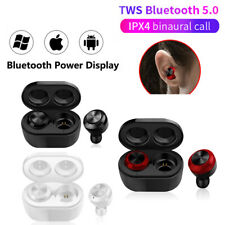 Wireless Bluetooth 5.0 Headset Earphones Stereo Sound Earbuds For Android/IOS