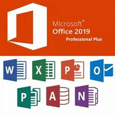 Microsoft Office 2019 Professional Plus / DVD / 1 - 3 PCs / Vollversion / DE