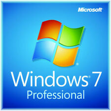 Microsoft Windows 7 Professional PRO 32 64 Full Version SP1 + Product Key + DVD