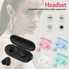 Bluetooth 5.0 Wireless Headset Earphones Pure Color Earbuds For Android/IOS