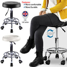 Leather Task Office Classic Chair Computer Desk Swivel Executive Adjustable UK