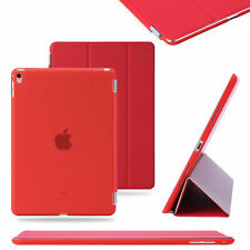 """Magnetic Smart Stand Case Cover For iPad 5 6 9.7"""" 2018 Air 2 3 4 Pro Mini Red"""