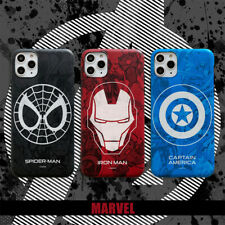 Marvel Superhero Phone Case Soft Shell For iPhone XS Max XR iPhone 7/8/11 Plus
