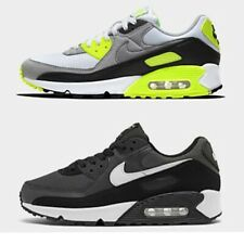 AUTHENTIC MEN'S NIKE AIR MAX 90 CASUAL SHOES- White/Particle Grey/Light Smoke Gr