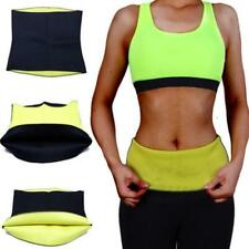 Womens Sweat Thermo Neoprene Body Shaper Gym Slimming Slim Trainer Belt Wai N9N2