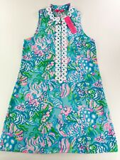 Lilly Pulitzer Jane Shift Dress/ Peony For Your Thoughs /Multi -RRP 178USD