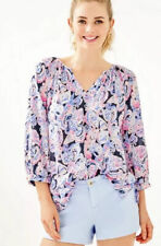 Lilly Pulitzer WILLA 3/4 SLEEVE TOP-RRP US 128