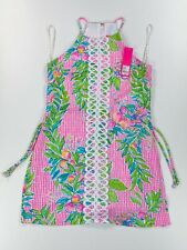Lilly Pulitzer Pearl Romper Dress -Dont Stop Beleafing/RRP US$ 188